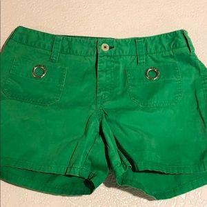 Tommy Hilfiger Green Sailor Shorts Cotton 8